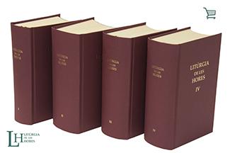 Nova edició de la Litúrgia de les Hores promoguda per la Conferéncia Episcopal Tarraconense i editada pel Centre de Pastoral Litúrgica de Barcelona.